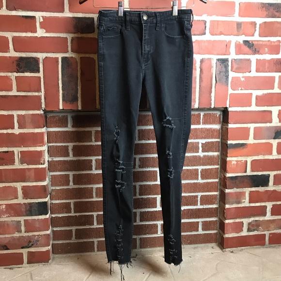 🔥Hollister High Rise Super Skinny Jean